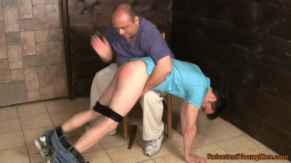 lean muscular Ukrainian punished and spanked