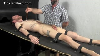 Daddy tickle tortures hairy guy Dylan