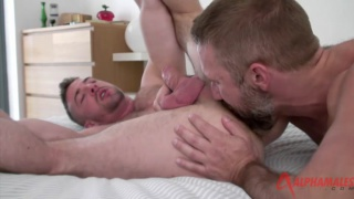Scott Hunter fucked by bearded man