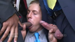 Double penetration interracial from bosses
