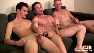 3Way Jack Off with Nick Decker, Isaac Conn & Caleb Jones