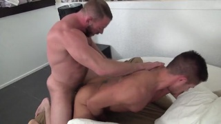 Shay michaels and Dylan Saunders fucking bare