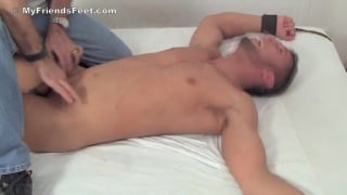 Diego in bondage and tickled
