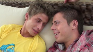 Jack Harrer and Phillipe Gaudin bareback fuck