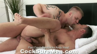 Paul Fresh Barebacks Andy West