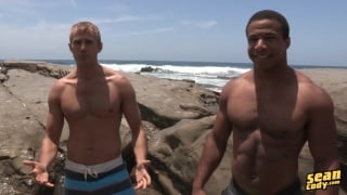 Chad and Blake bareback at sean cody