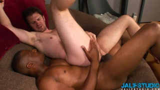 Luke Cross and Tre Stagg interracial