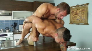 Alec Leduc & Emilio Calabria at men of montreal