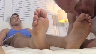 KC's First Foot Worshiping