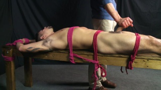 stud is roped down and kept hard