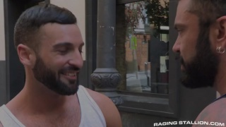 the tourist starring Rogan Richards & Abraham Al Malek
