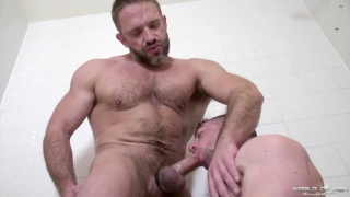 scott hunter is hungry for dirk caber's daddy cock
