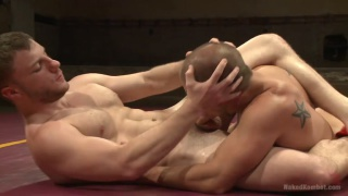 eli hunter vs doug acre in nude wrestling match