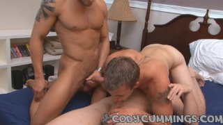 First All-Male Threesome for Cody Cummings 1