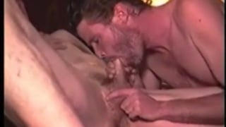 construction workers blow each other