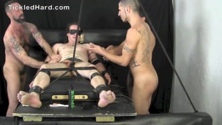 beefy stud cassidy bound and tickled