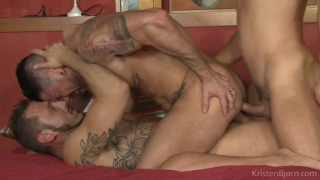 On the Prowl - Scene 15: James Castle, Antonio Miracle and Mario Domenech