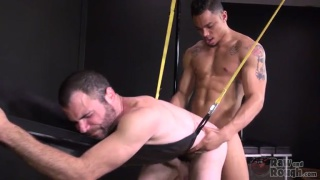 ATM Ass to Mouth with Jerimiah Carmen and Dusty Williams