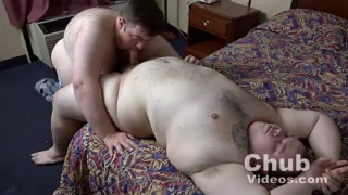 fucking a daddy with a huge belly
