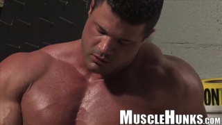 huge bodybuilder kurt backmann