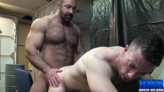 hairy daddy brad kalvo bare fucks nick tiano