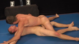 alan carly and hugo antonin nude wrestling match