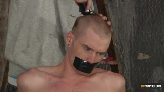 Sebastian gets his Head Shaved And Face Fucked