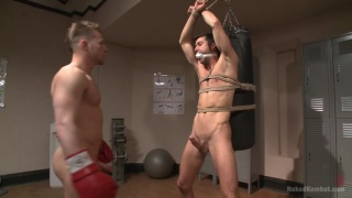 boxer and fucking in the locker room