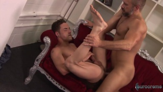 Horny Son, Happy Daddy with dirk caber