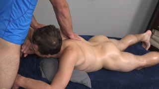truman tries cock sucking for the first time