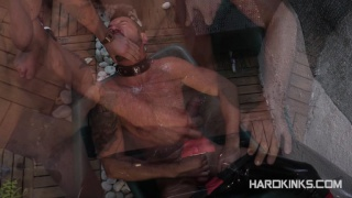 COCK-HUNGRY RUBBER PIG
