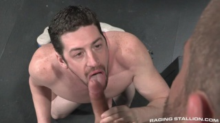two big-dicked alpha males fuck