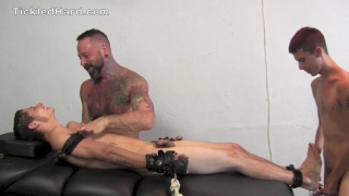 Carson helps tickle bound stud kae