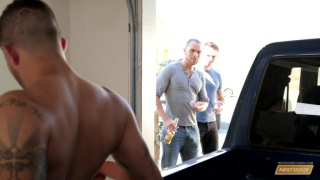 spark plugged starring Alexander Gustavo, Brock Avery, Jason Maddox & Joey Rico