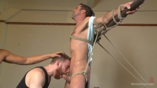 stud shoots giant load after long edging