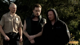 busted with Lucas Knight, Jordan & Justin Star