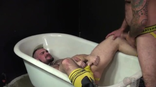 scotty rage fucks his piss boy