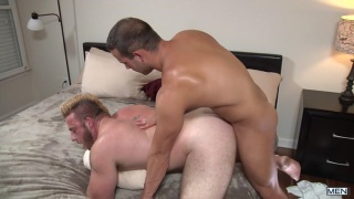 my two daddies starring Aaron Bruiser & Luke Adams