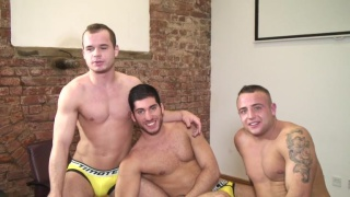 Diesel O'Green interview at uk hot jocks