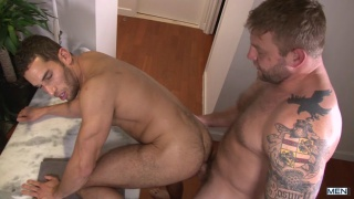 straight man gay porn with Colby Jansen and Ricky Decker