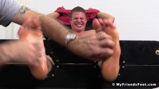 Muscle Hunk Viggo Tied Up and Tickled