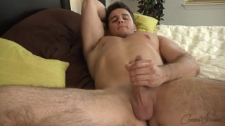 beefy hunk tim beats off at corbin fisher