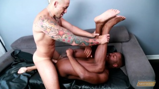 Jordano Santoro sits on JP Richards dick