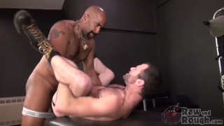 Dusty Williams and Kid Satyr in Raw Daddy Loads Part 1