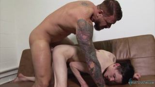 Ten-Inch Daddy with rocco steel and aaron aurora