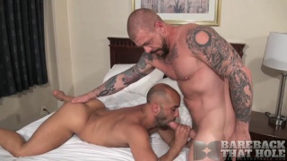 riding Rocco Steele's 10x7 cock