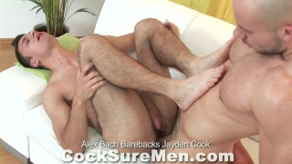 Alex Bach Barebacks Jayden Cook