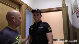 cop forced to serve a coworker