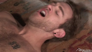 hairy men fucking, pulling hair and twisting nipples