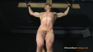 chris is tortured in the prison of pain
